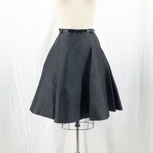 KATE SPADE Black Pleated Holly Holiday Skirt